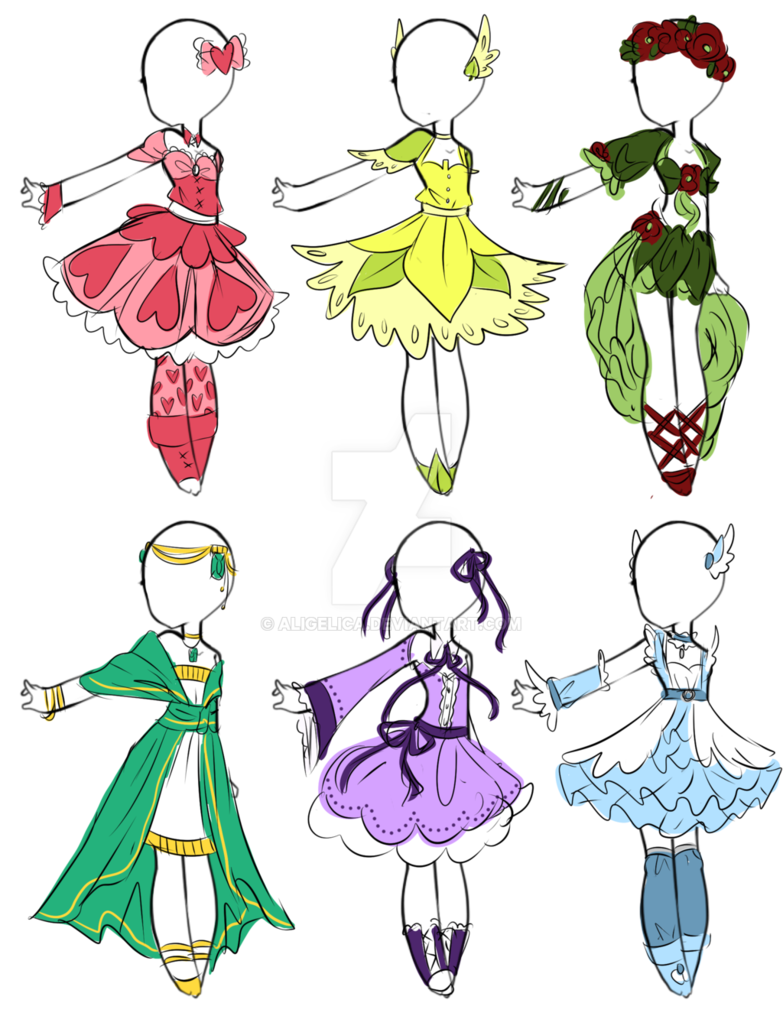 Photo of Emergency 2 USD adoptables! CLOSED by Aligelica on DeviantArt