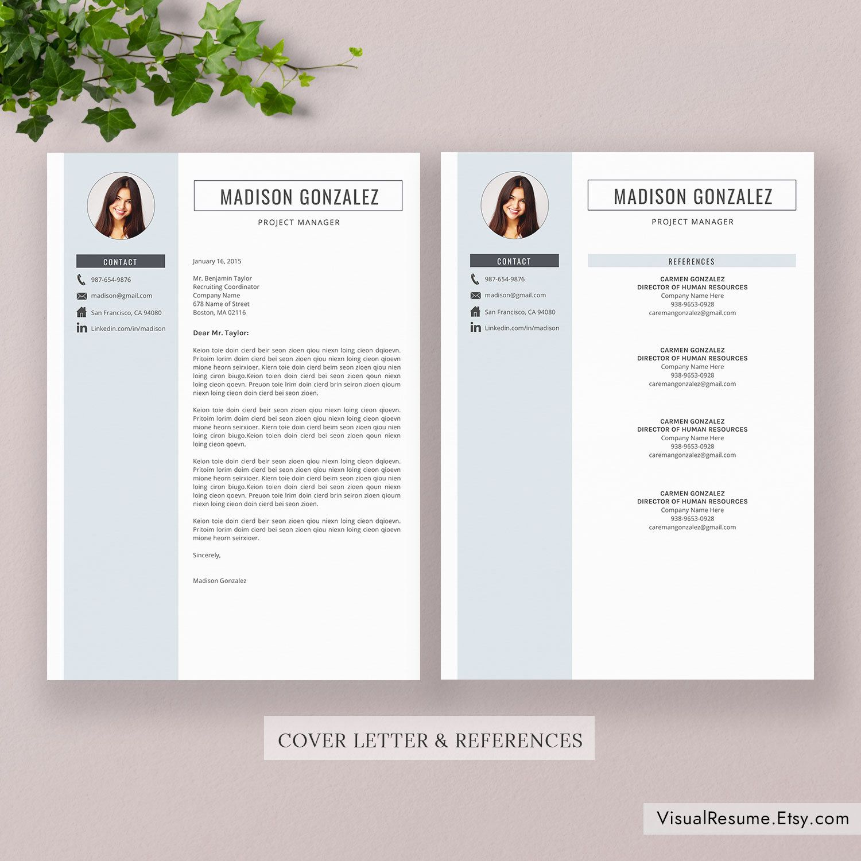 2020 Resume Template / CV Template, Professional Resume
