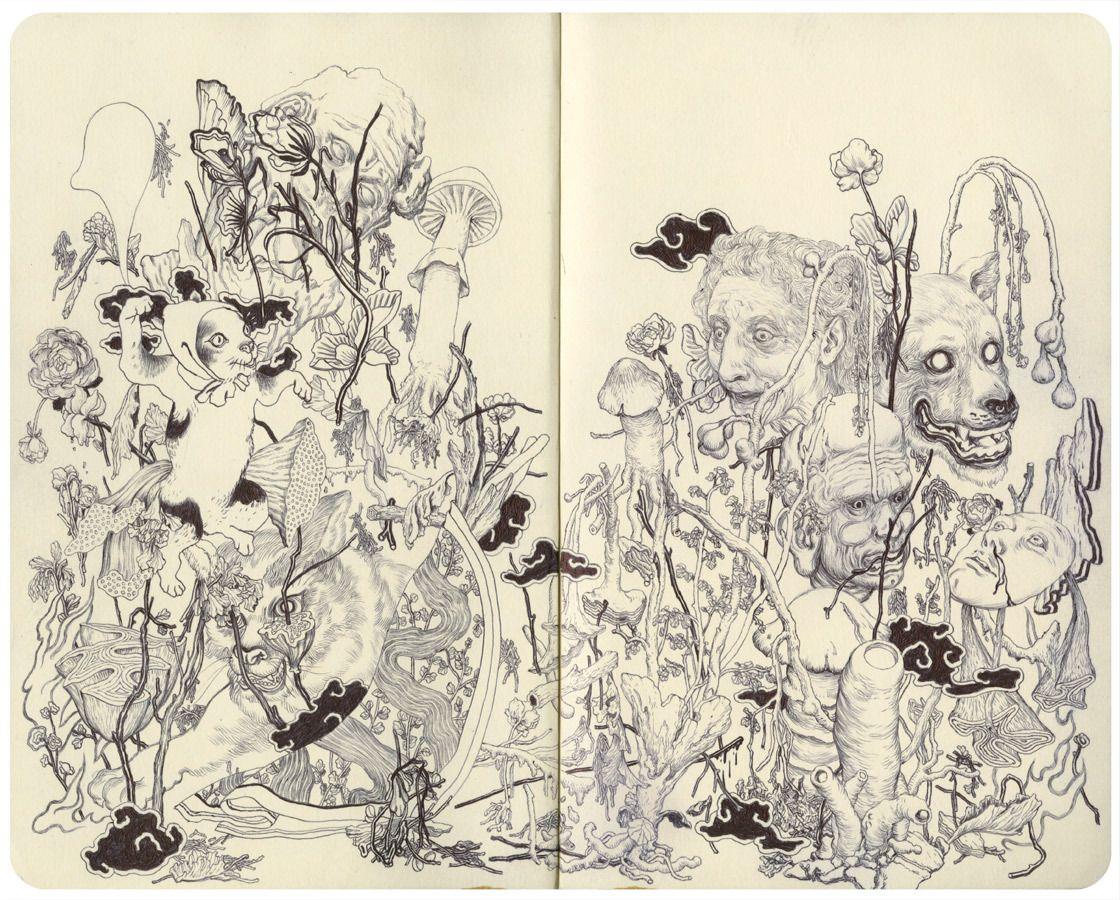 """James Jean – """"Fungi III"""""""