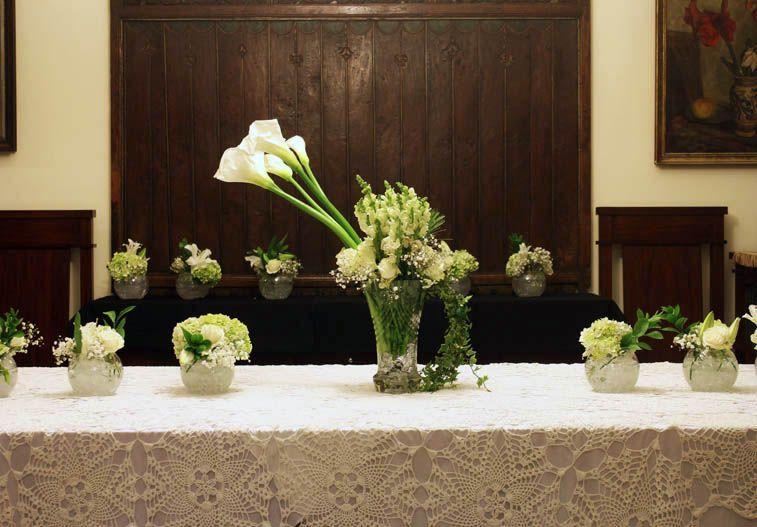 Rangkaian Bunga Meja Panjang Decorating With Love Pinterest