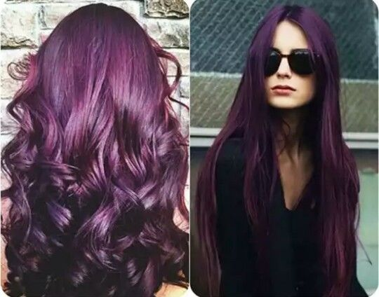 Mulberry / Sangria Hair | Color | Pinterest | Sangria ...