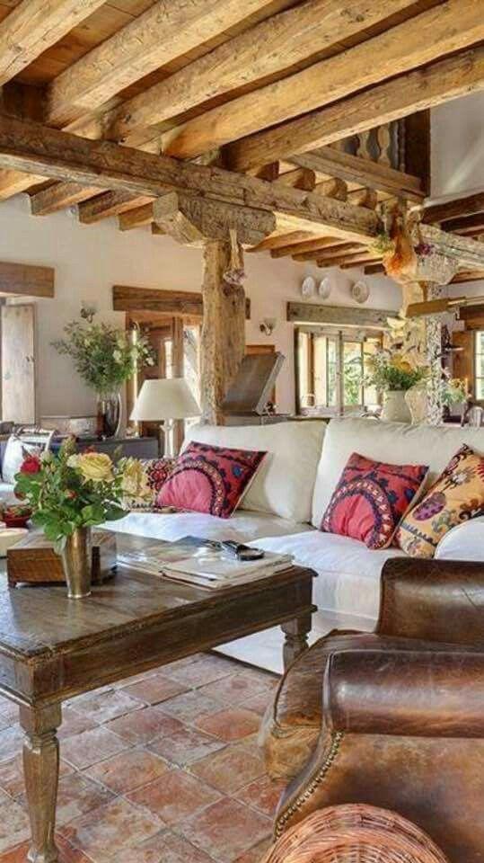 Pin by Claudia Colman on deco | Pinterest | Living rooms, Haciendas ...