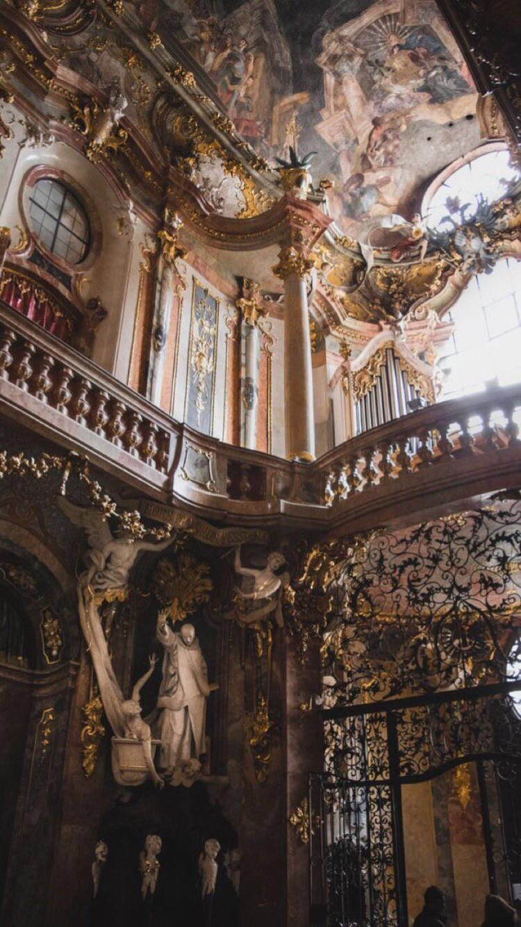 baroque architecture church munich rococo interior century background germany 18th royal churches buildings architettura palace ceiling amazing arte di interiors