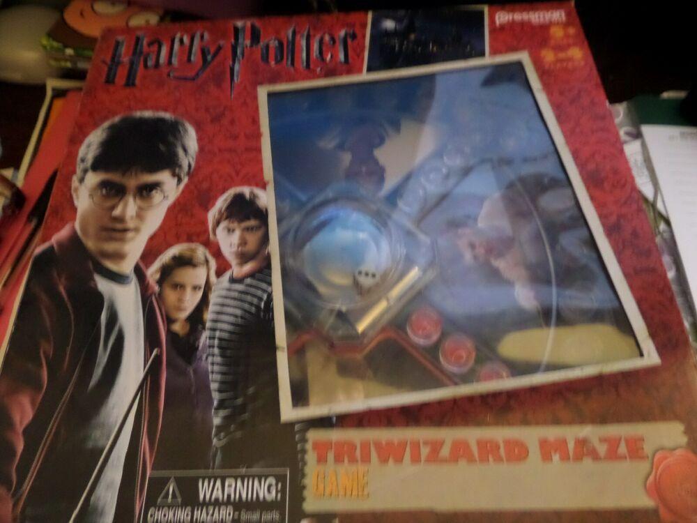 New Harry Potter Triwizard Maze Game Pressman Harrypotter Harry