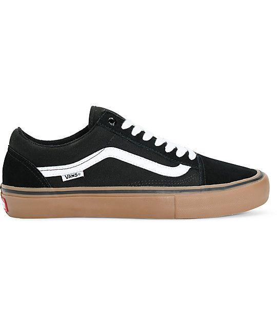 Skate In Skool Shoes Vans Pro Old Gum BlackWhiteamp; 2019Kicks dxhtrCsQB