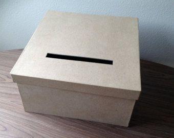 DIY Wedding Card Box, Wedding Card Holder, Gift Card Holder | Diy ...