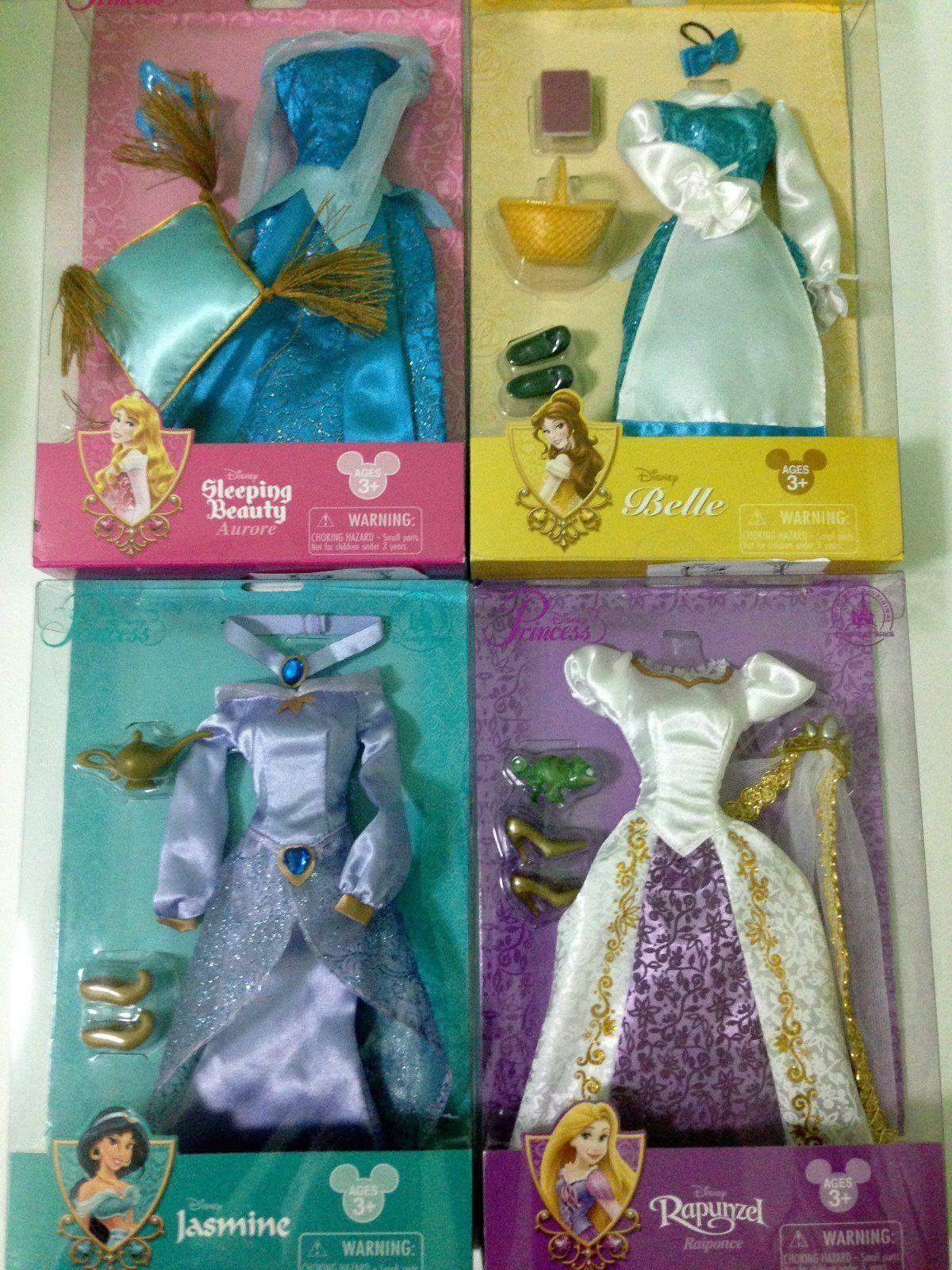 Custom Handmade Barbie Clothing: Disney Princess Doll Costume Set Dolls Outfit12 Rapunzel Jasmine Belle Aurora -> BUY IT NOW ONLY: $79.9 on eBay!