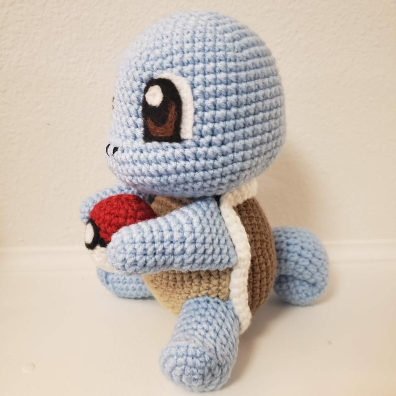 Bulbasaur /& Squirtle Amigurumi PDF Files Crochet Pattern BUNDLE Charmander