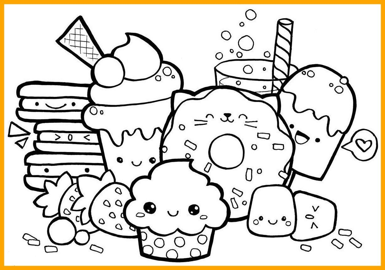 22 Excellent Image Of Food Coloring Pages Cute Doodle Art Cute