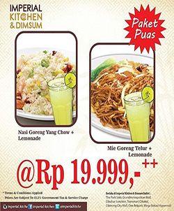 Imperial Kitchen Dimsum Promo Paket Puas Telur Nasi Mie