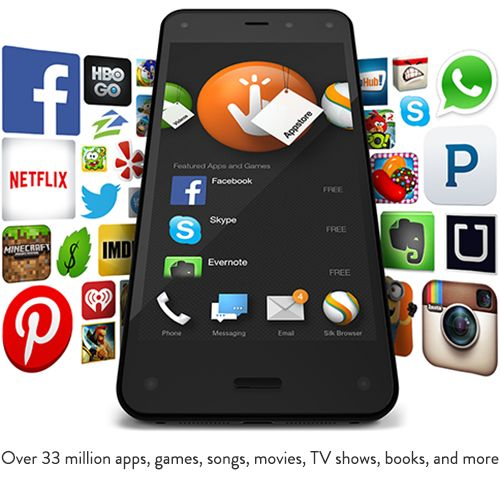 Apps & More...Get your Fire Phone! Amazon fire phone