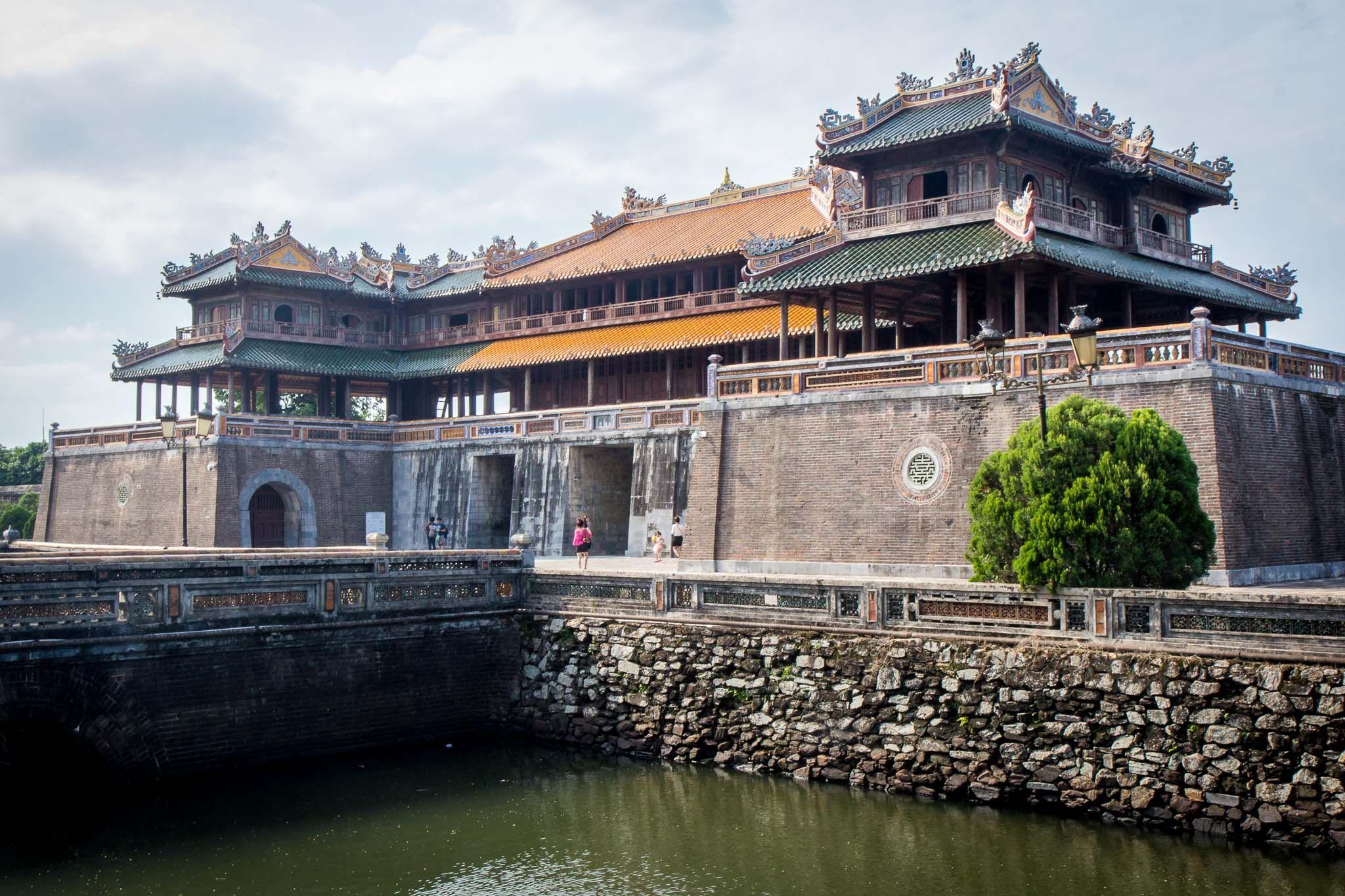 Visiting The Imperial City Of Hue The Hue Citadel Vietnam In 2020 Vietnam Purple City City
