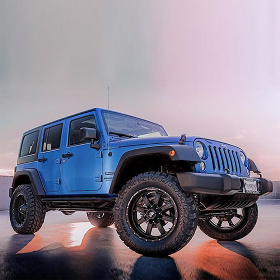 Offroading is where this 2015 Jeep Wrangler excels, with
