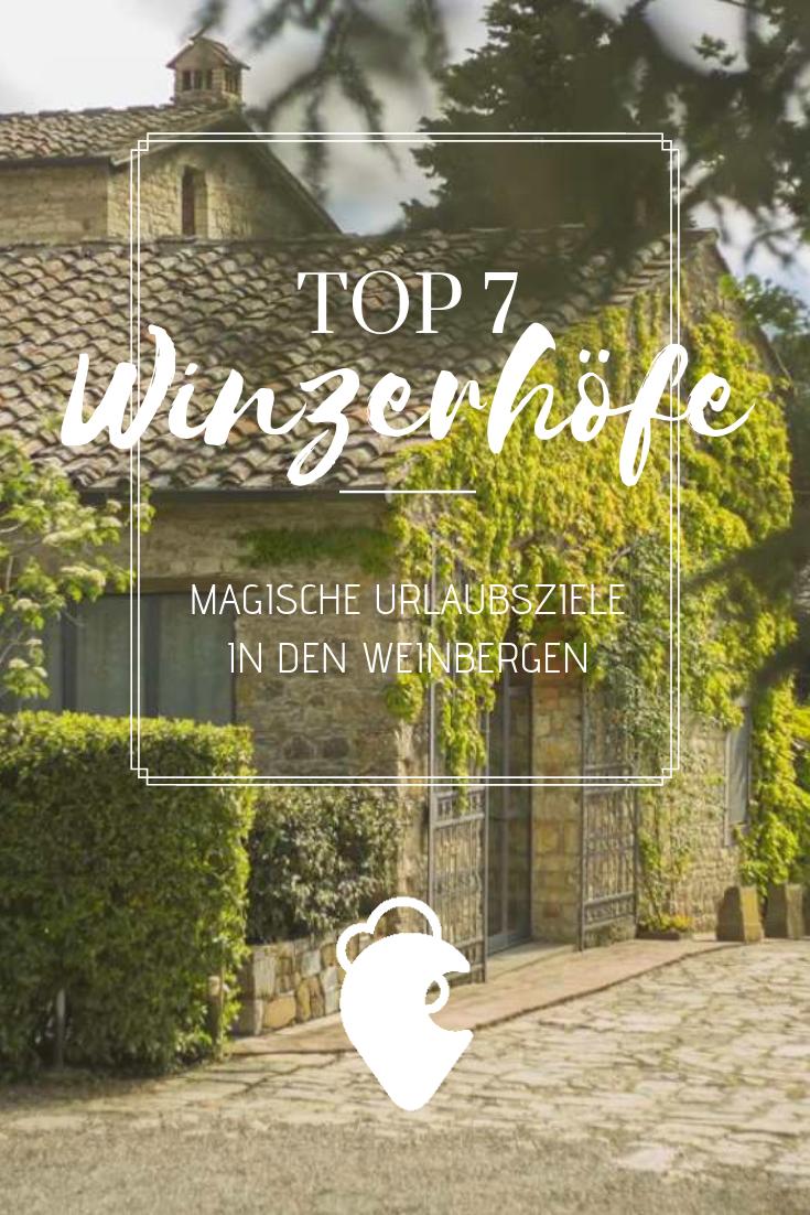 Photo of 7 romantische Landquartiere für deinen Urlaub in den Weinbergen