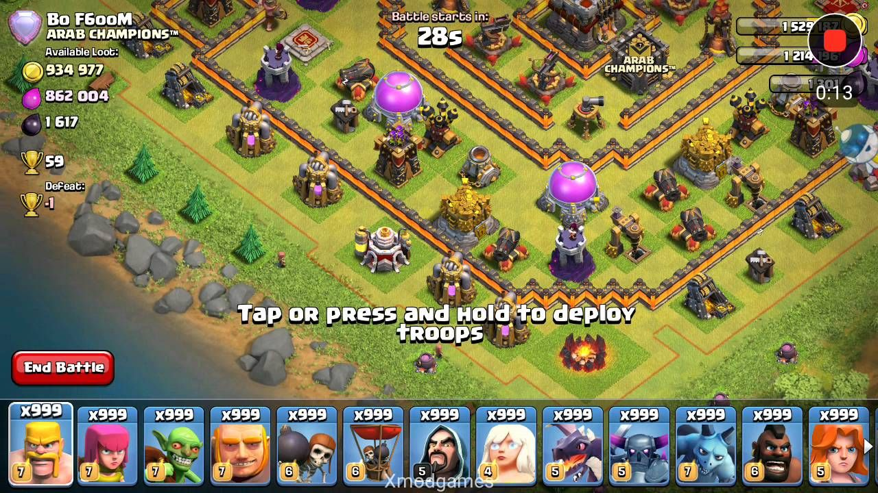How to make hack for clash of clans (xmodgame)   hack