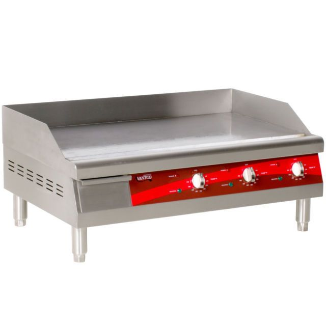 New Avantco Electric Commercial Flat Top Restaurant Griddle
