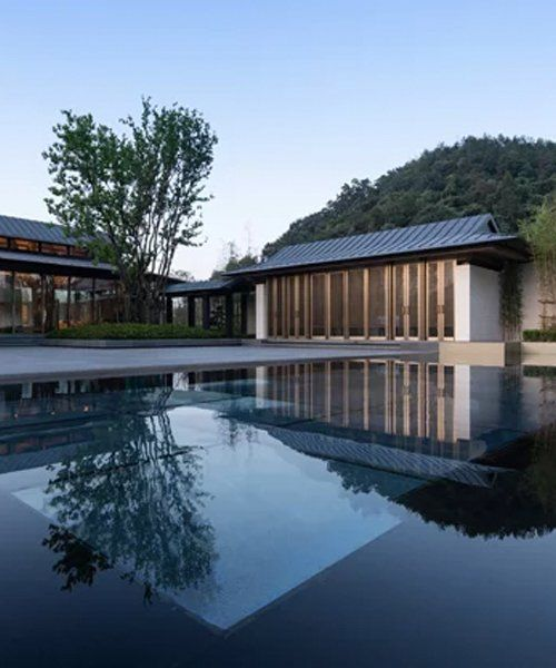 Best Lacime Architects Arranges The Deqing Living House Around 640 x 480