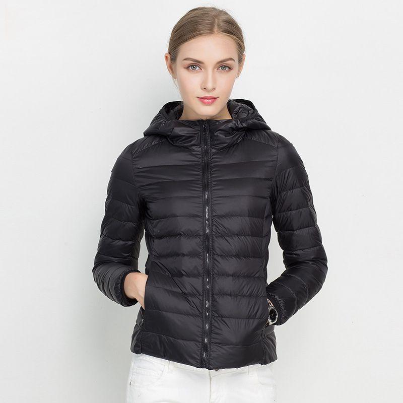 1054f1e4d $37.68 - Cool 2017 New Women Winter Jacket Ultra Light White Duck ...