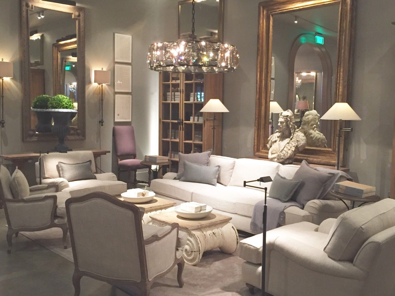 Restoration Hardware Living Room