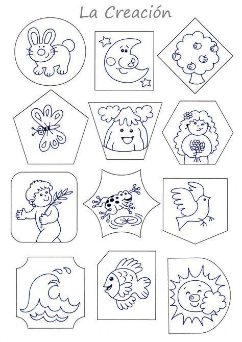 PARA COLOREAR y RECONOCER FORMAS CONSIGNA : Colorear los dibujos de ...