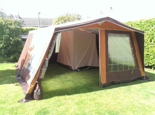 Retro frame tent canvas tent outstanding condition terka for A frame canvas tents for sale