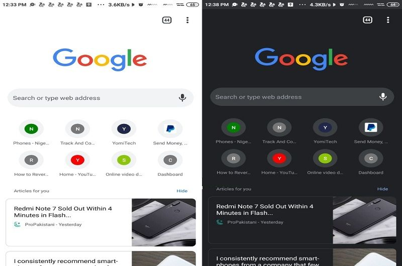 Step By Step Instructions To Enable Chrome Dark Mode On
