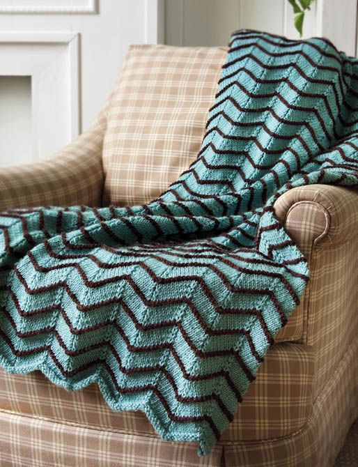 Crocheted Ripple Afghan - Free instructions and pattern ...
