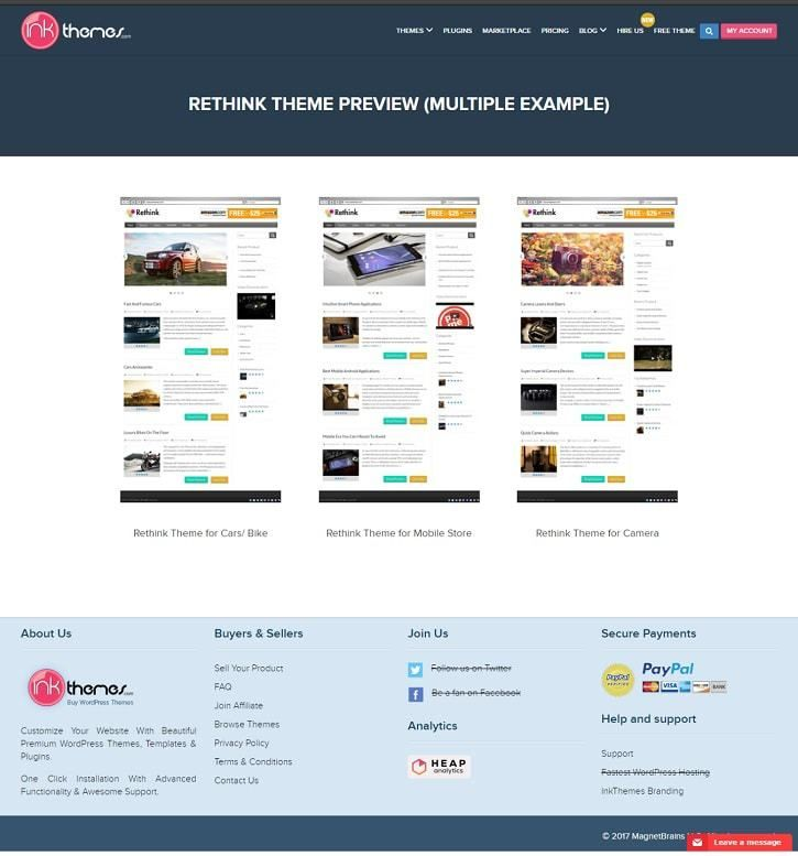 15+ Free Affiliate Marketing Wordpress Themes