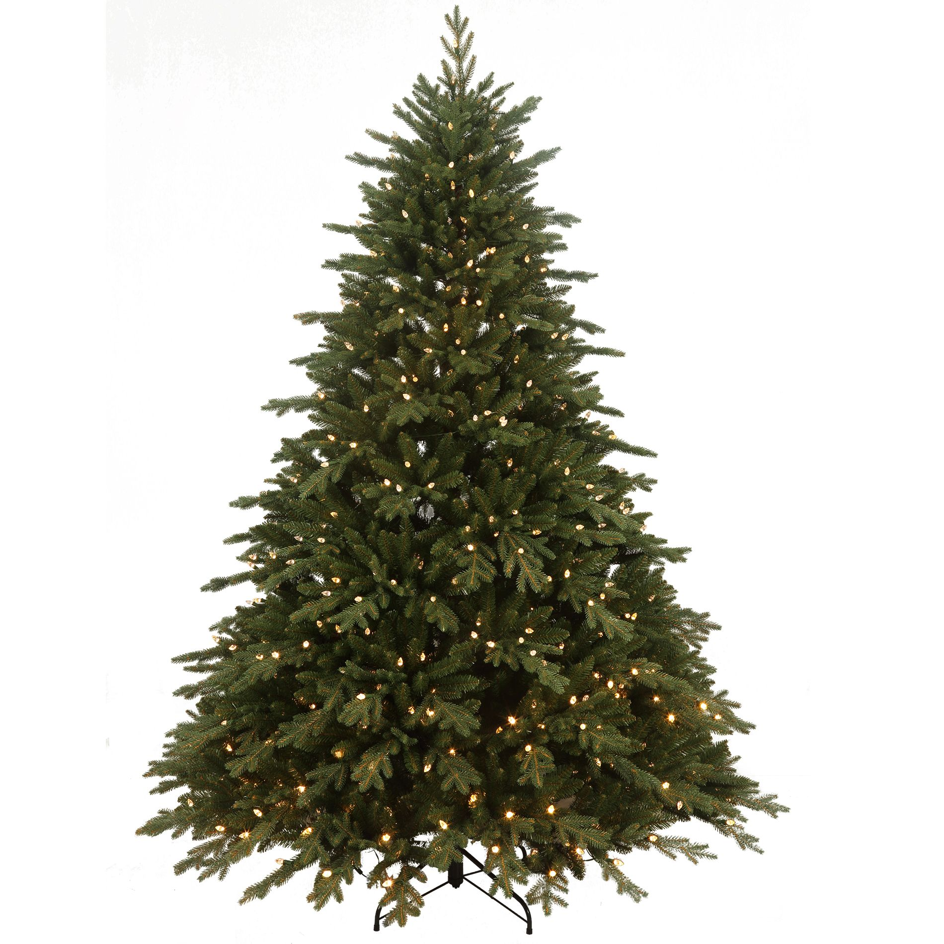 xmas tree sears roebuck and co 75 norwegian spruce with 800 dual color led lights 225