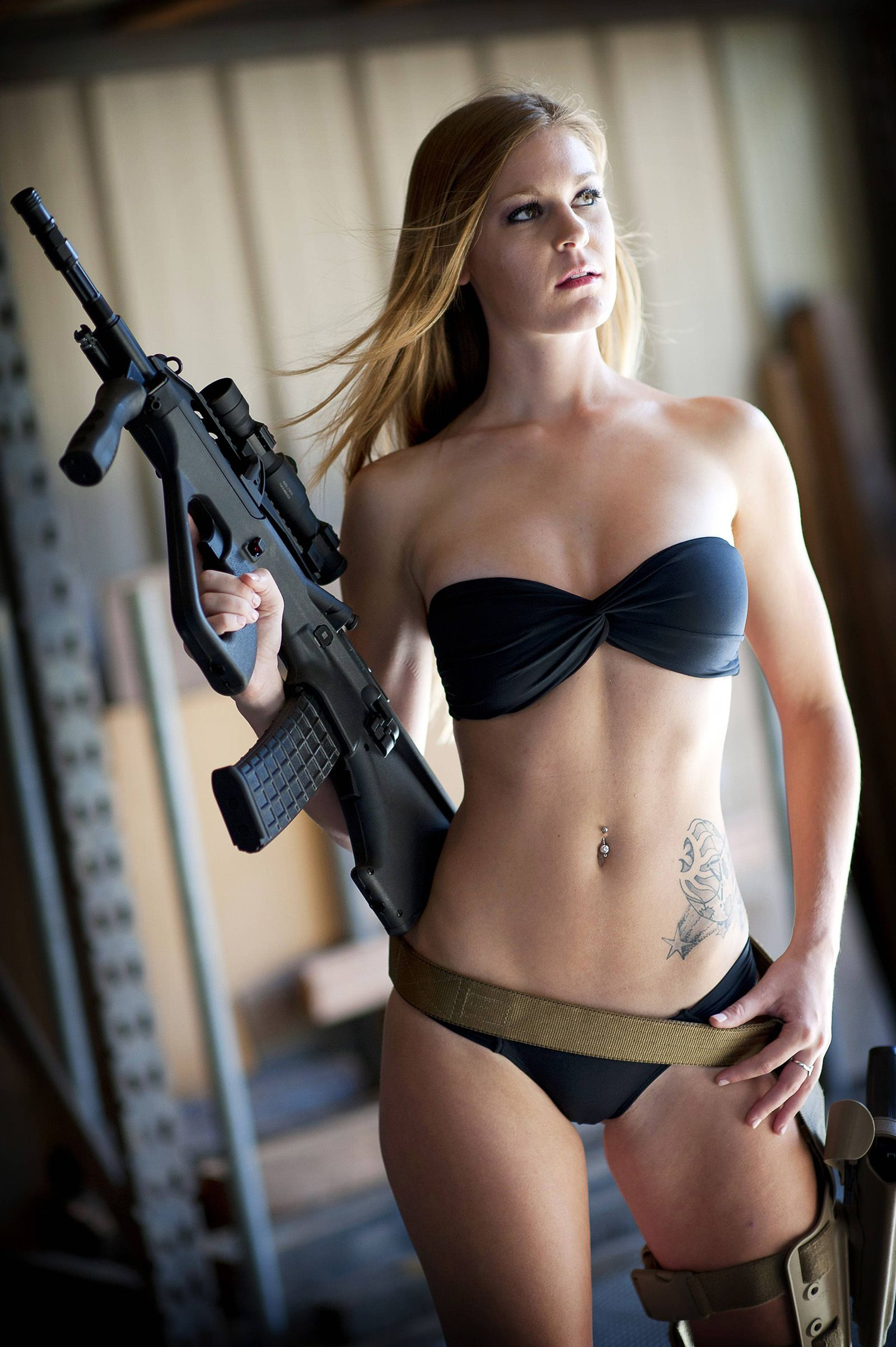 women females weapons - photo #31