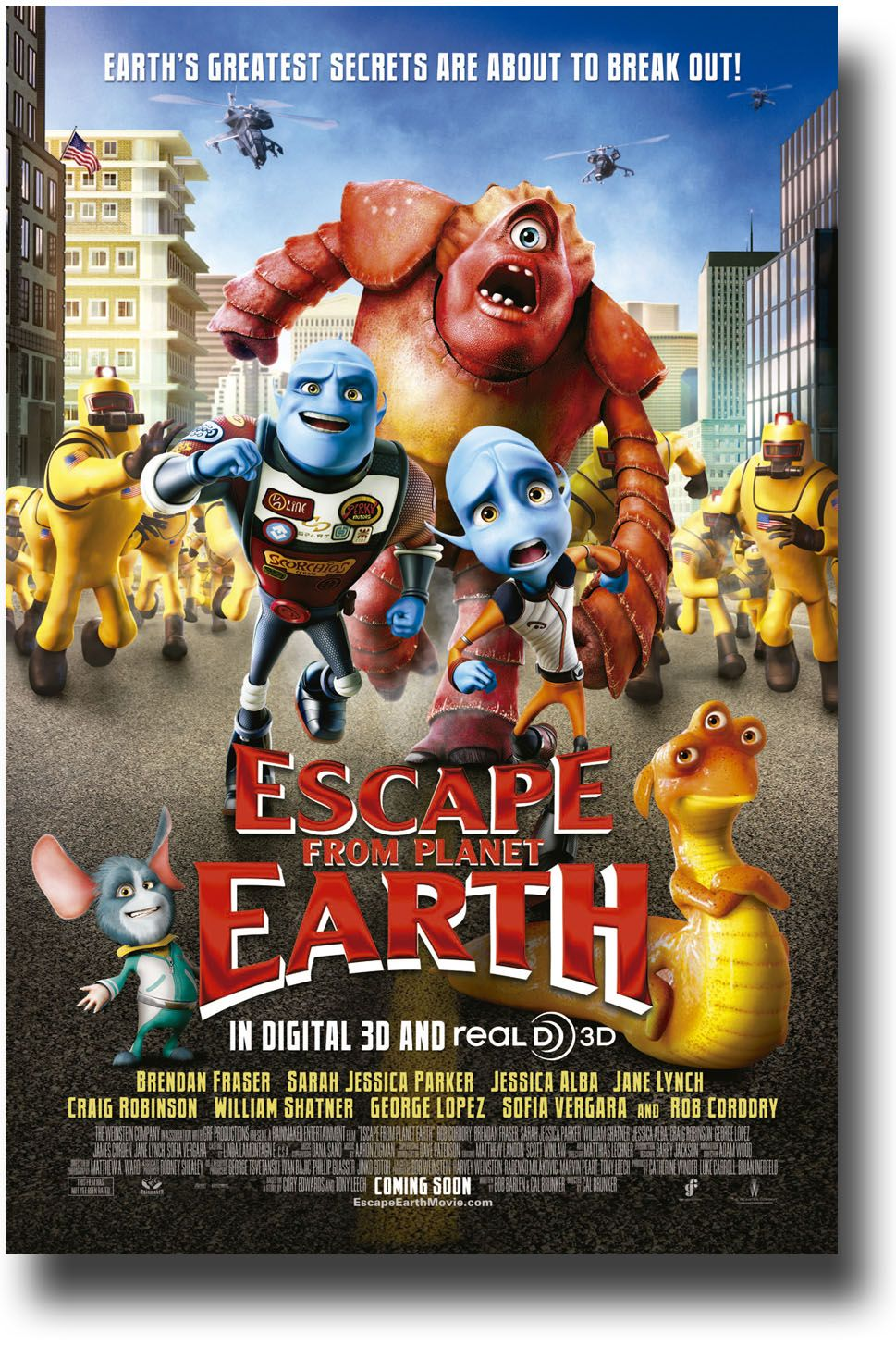 escape from planet earth movie poster 9 84 free information make