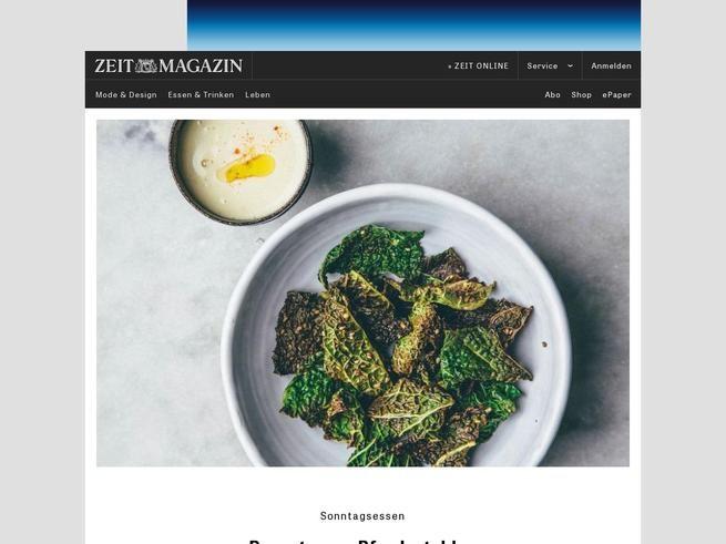 Vegetarischer Foodblog Nourish Atelier | ZEITmagazin
