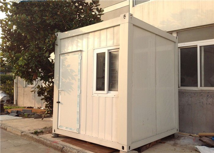 Recycled Mini Flat Pack 10ft Container Prefab Guard House Eps Panel Homes Prefab Guard House House