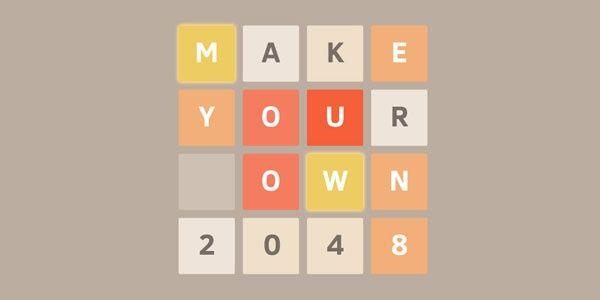 Crea tu propio 2048