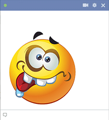 This Smiley Is Not Ashamed To Be Nuts It Thrives On Wackiness As You Can See In 2020 Funny Smiley Smiley Horror Smiley
