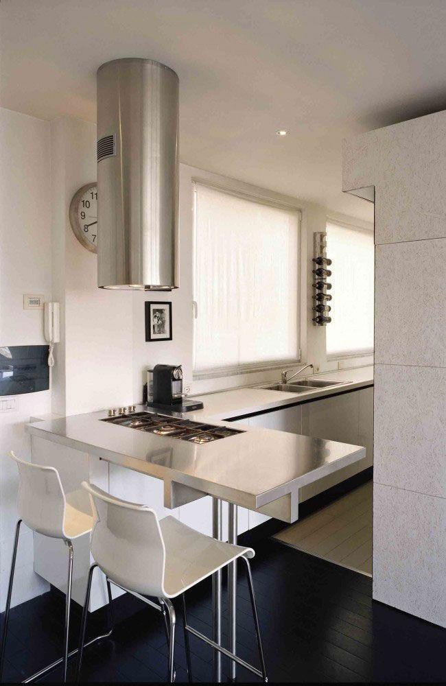 Interior Designed Kitchens Small Studio Apartment Interior Design In Rome Italy  Founterior