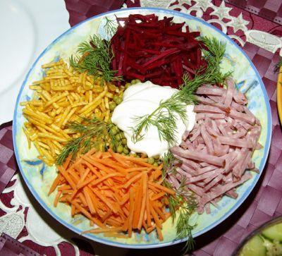 простые салаты с фото