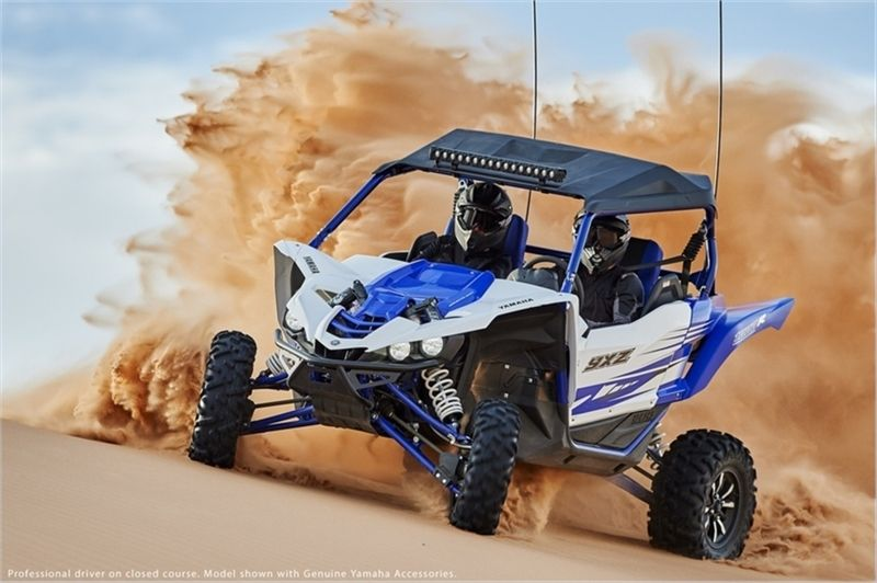 New 2016 Yamaha YXZ1000R Racing Blue/White ATVs For Sale