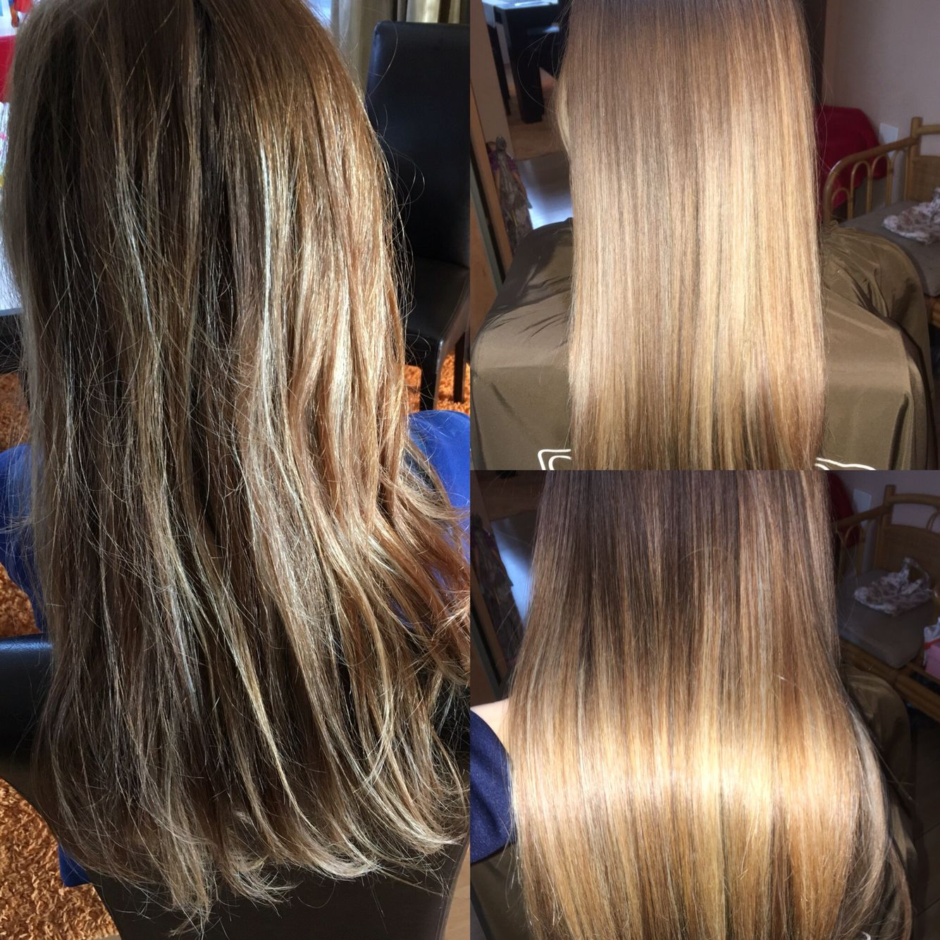 Before And After Cocochoco Brazilian Keratin Treatment Hair