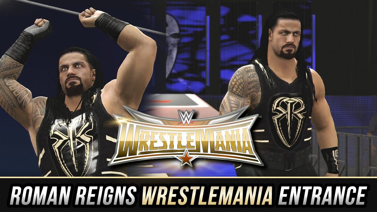 b292c91102 WWE 2K16 - Roman Reigns Wrestlemania 32 Attire   Ramp Entrance