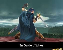 Plz tell me im not the only one who when playing ssb4 and Marth