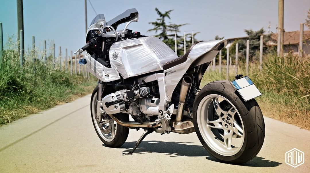 Caferacerpasioncom Bmw R1100 S Caferacer Brivido By Ride
