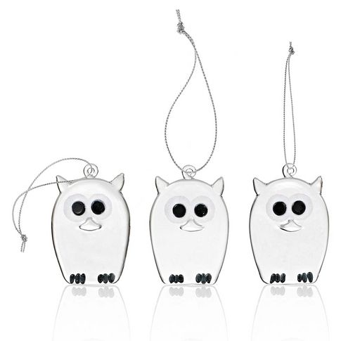 Glas-Eulen/Glass owls