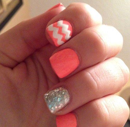 24 Cute Nail Art Designs Inspired Snaps Nails Pinterest