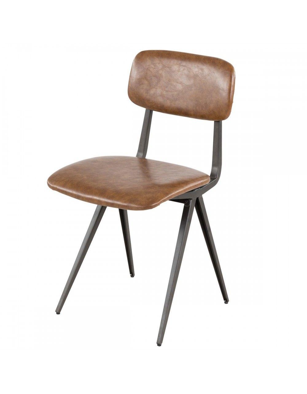 Chaise vintage ARTHUR. Confortable et esthétique, cette