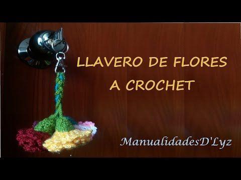 llaveros para regalar en Valentine's Day, corazones crochet llaveros, Handworkdiy - YouTube