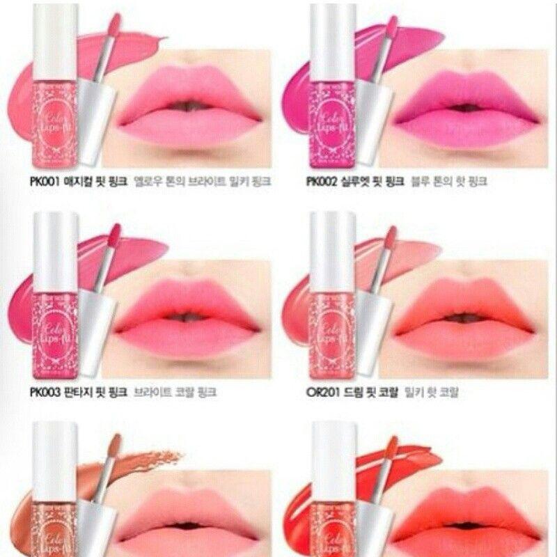 تنت الشفاه الوردي من إتيود هاوس يتميز بكثير من الصفات الرائعة و المغرية 1 شعور كريمي مخملي 2 بالامكان و Budget Beauty Intense Lip Color Lip Colors
