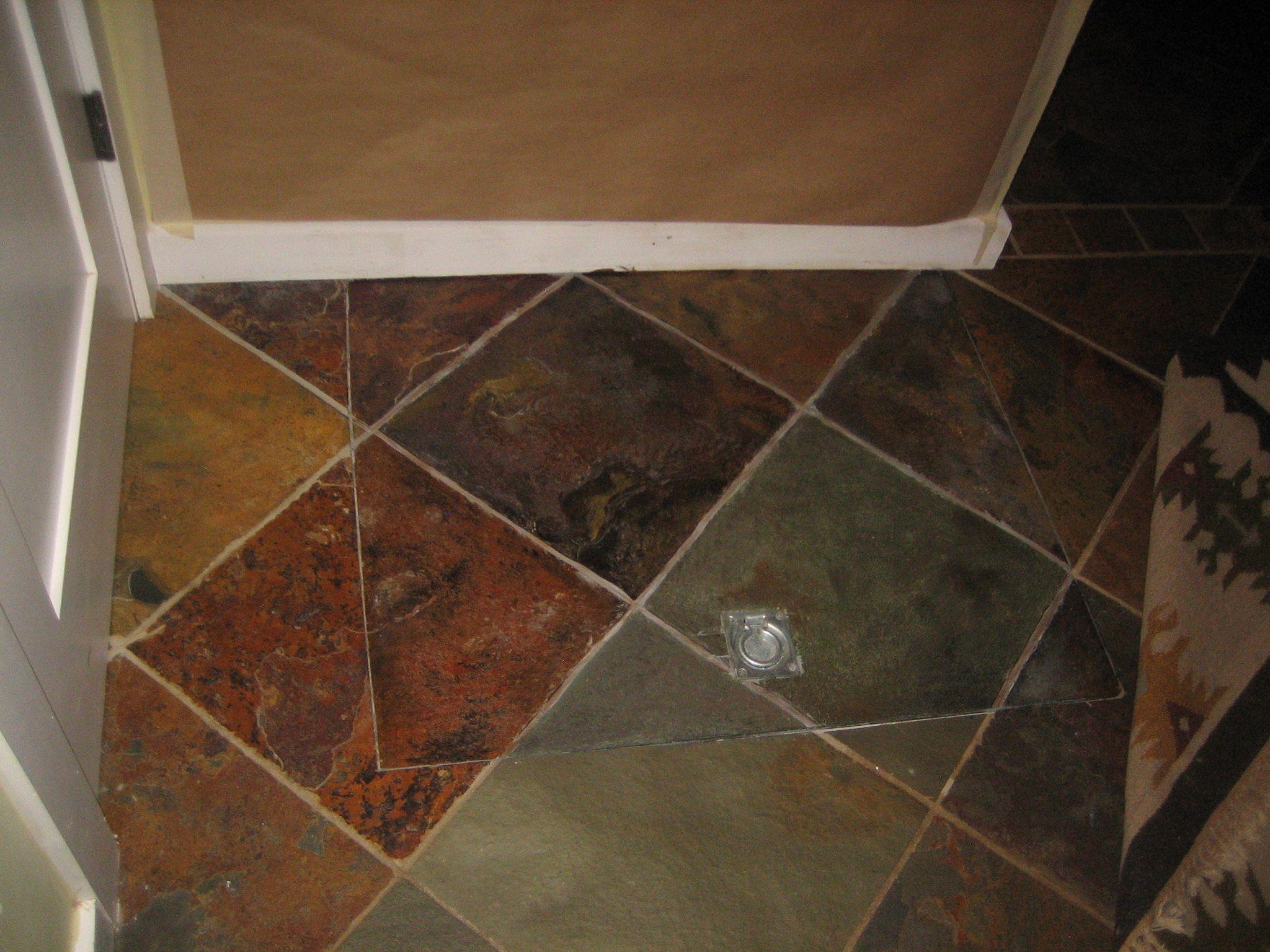 Pin By Shari Moraga On My Past Work Decorative Painting House Flooring Slate Flooring Painted Doors