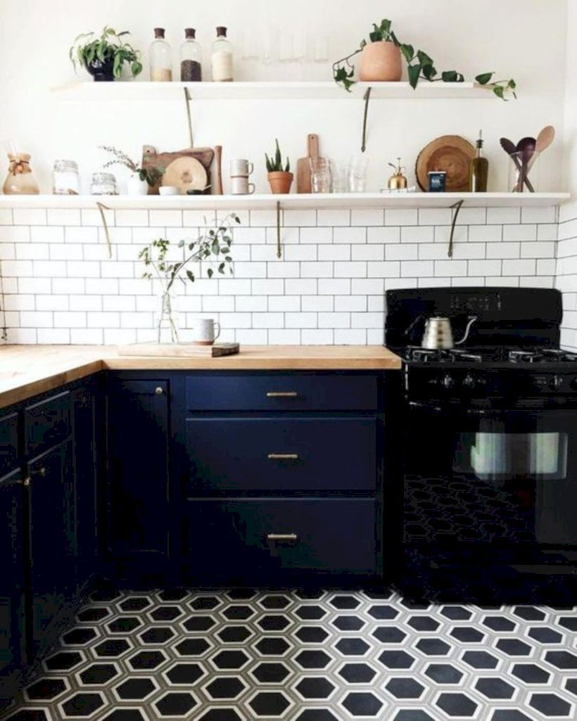 awesome 9 Beautiful Ombre Tile Floor Design Ideas   Kitchen ...