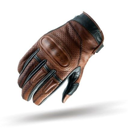 Brown Heritage Retro Vintage Classic Summer Motorcycle Gloves Size: M S-XXL SHIMA Caliber Brown